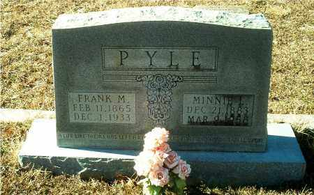 PYLE, FRANK M. - Columbia County, Arkansas | FRANK M. PYLE - Arkansas Gravestone Photos
