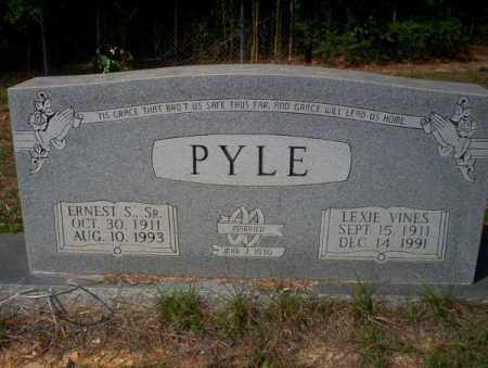 PYLE SR., ERNEST S - Columbia County, Arkansas | ERNEST S PYLE SR. - Arkansas Gravestone Photos