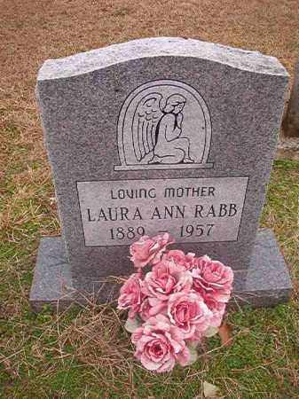 RABB, LAURA ANN - Columbia County, Arkansas | LAURA ANN RABB - Arkansas Gravestone Photos