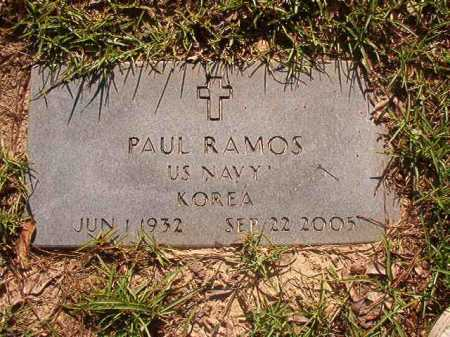 RAMOS (VETERAN KOR), PAUL - Columbia County, Arkansas | PAUL RAMOS (VETERAN KOR) - Arkansas Gravestone Photos