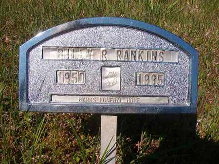 RANKINS, BILLY R - Columbia County, Arkansas | BILLY R RANKINS - Arkansas Gravestone Photos