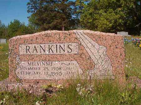 RANKINS, MELVINNIE - Columbia County, Arkansas | MELVINNIE RANKINS - Arkansas Gravestone Photos
