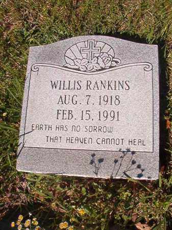 RANKINS, WILLIS - Columbia County, Arkansas | WILLIS RANKINS - Arkansas Gravestone Photos