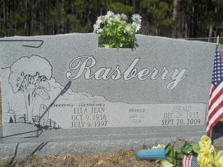 RASBERRY, ELLA JEAN - Columbia County, Arkansas | ELLA JEAN RASBERRY - Arkansas Gravestone Photos