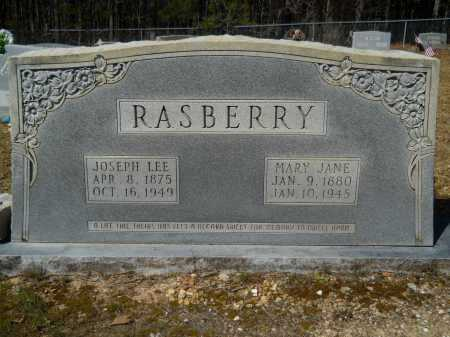RASBERRY, MARY JANE - Columbia County, Arkansas | MARY JANE RASBERRY - Arkansas Gravestone Photos