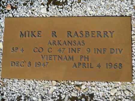 RASBERRY (VETERAN VIET), MIKE R - Columbia County, Arkansas | MIKE R RASBERRY (VETERAN VIET) - Arkansas Gravestone Photos