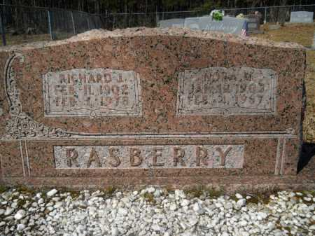 RASBERRY, RICHARD J. - Columbia County, Arkansas | RICHARD J. RASBERRY - Arkansas Gravestone Photos