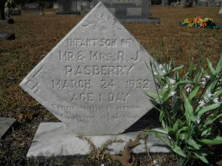 RASBERRY, INFANT - Columbia County, Arkansas | INFANT RASBERRY - Arkansas Gravestone Photos