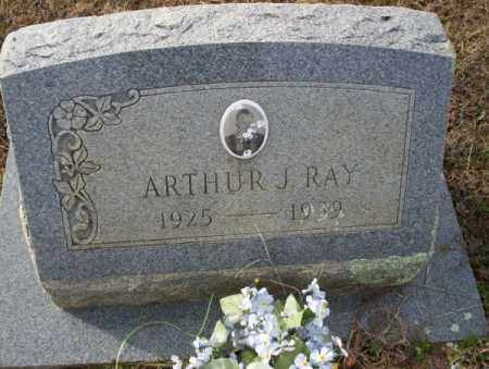 RAY, ARTHUR J - Columbia County, Arkansas | ARTHUR J RAY - Arkansas Gravestone Photos