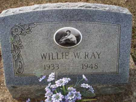 RAY, WILLIE W - Columbia County, Arkansas | WILLIE W RAY - Arkansas Gravestone Photos