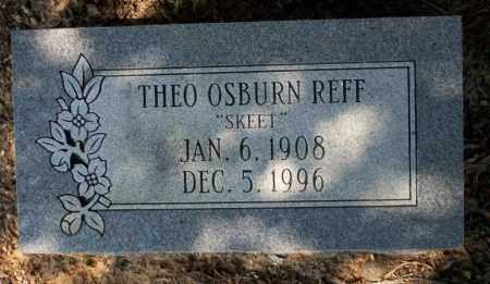 REFF, THEO OSBURN - Columbia County, Arkansas | THEO OSBURN REFF - Arkansas Gravestone Photos