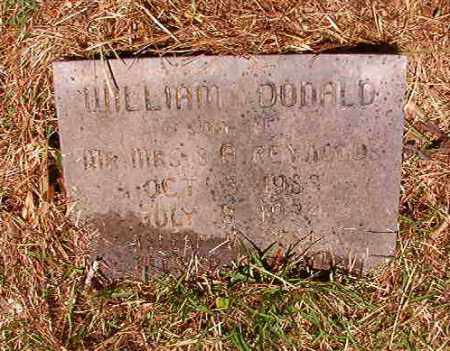 REYNOLDS, WILLIAM DONALD - Columbia County, Arkansas | WILLIAM DONALD REYNOLDS - Arkansas Gravestone Photos