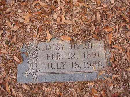 RHEA, DAISY H - Columbia County, Arkansas | DAISY H RHEA - Arkansas Gravestone Photos