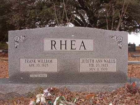 WALLIS RHEA, JUDITH ANN - Columbia County, Arkansas | JUDITH ANN WALLIS RHEA - Arkansas Gravestone Photos