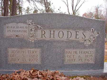 RHODES, HATTIE FRANCES - Columbia County, Arkansas | HATTIE FRANCES RHODES - Arkansas Gravestone Photos