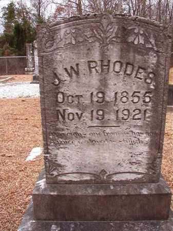 RHODES, J W - Columbia County, Arkansas | J W RHODES - Arkansas Gravestone Photos