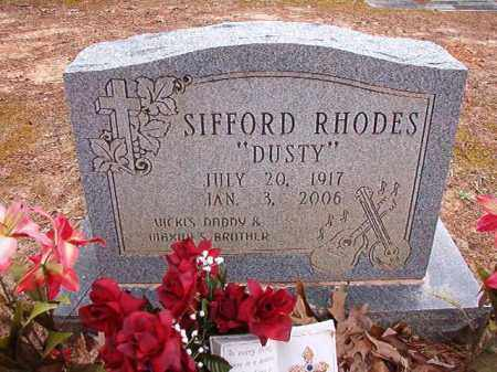 "RHODES, SIFFORD ""DUSTY"" - Columbia County, Arkansas 