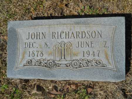 RICHARDSON, JOHN - Columbia County, Arkansas | JOHN RICHARDSON - Arkansas Gravestone Photos