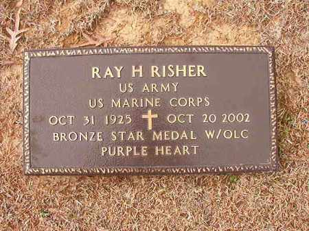 RISHER (VETERAN), RAY H - Columbia County, Arkansas | RAY H RISHER (VETERAN) - Arkansas Gravestone Photos