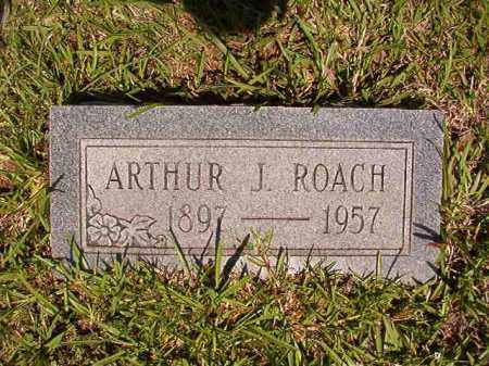 ROACH, ARTHUR J - Columbia County, Arkansas | ARTHUR J ROACH - Arkansas Gravestone Photos