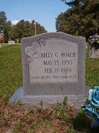 ROACH, BILLY G - Columbia County, Arkansas | BILLY G ROACH - Arkansas Gravestone Photos