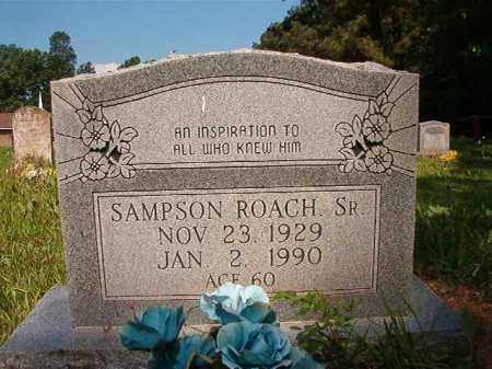 ROACH, SR, SAMPSON - Columbia County, Arkansas | SAMPSON ROACH, SR - Arkansas Gravestone Photos