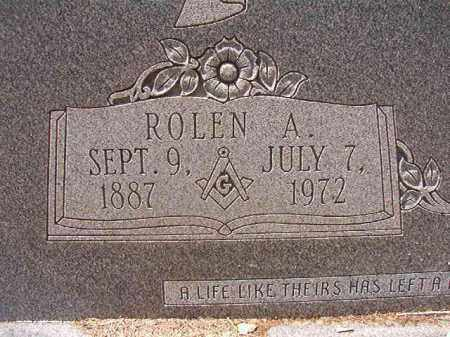 ROBERSON, ROLEN A - Columbia County, Arkansas | ROLEN A ROBERSON - Arkansas Gravestone Photos