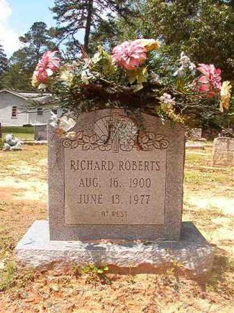 ROBERTS, RICHARD - Columbia County, Arkansas | RICHARD ROBERTS - Arkansas Gravestone Photos