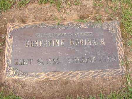 ROBINSON, ERNESTINE - Columbia County, Arkansas | ERNESTINE ROBINSON - Arkansas Gravestone Photos
