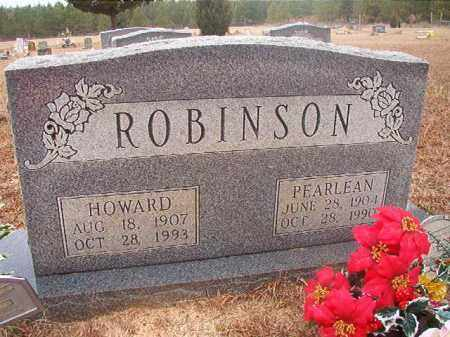 ROBINSON, HOWARD - Columbia County, Arkansas | HOWARD ROBINSON - Arkansas Gravestone Photos