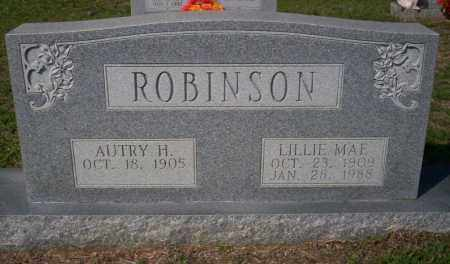 ROBINSON, LILLIE MAE - Columbia County, Arkansas | LILLIE MAE ROBINSON - Arkansas Gravestone Photos