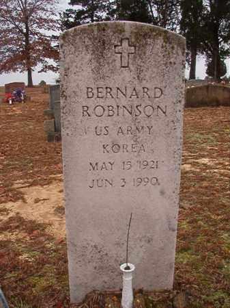 ROBINSON (VETERAN KOR), BERNARD - Columbia County, Arkansas | BERNARD ROBINSON (VETERAN KOR) - Arkansas Gravestone Photos