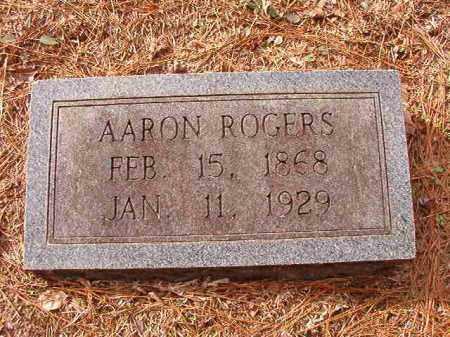 ROGERS, AARON - Columbia County, Arkansas | AARON ROGERS - Arkansas Gravestone Photos
