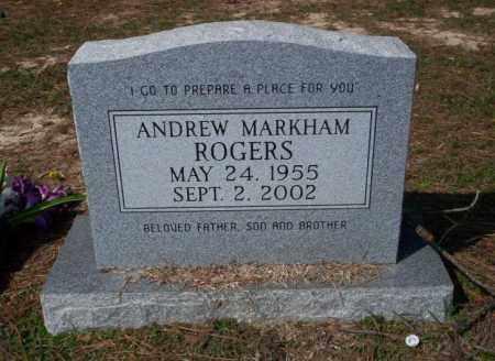 ROGERS, ANDREW MARKHAM - Columbia County, Arkansas | ANDREW MARKHAM ROGERS - Arkansas Gravestone Photos