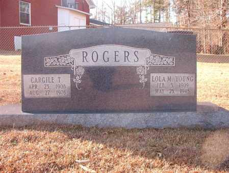 ROGERS, CARGILE T - Columbia County, Arkansas | CARGILE T ROGERS - Arkansas Gravestone Photos