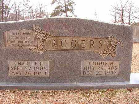 ROGERS, CHARLIE P - Columbia County, Arkansas | CHARLIE P ROGERS - Arkansas Gravestone Photos