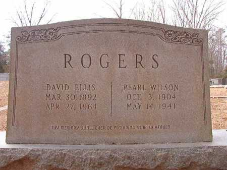 ROGERS, DAVID ELLIS - Columbia County, Arkansas | DAVID ELLIS ROGERS - Arkansas Gravestone Photos