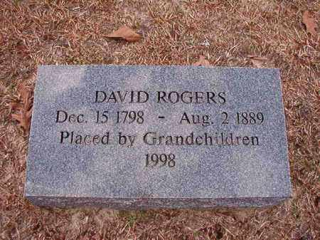 ROGERS, DAVID - Columbia County, Arkansas | DAVID ROGERS - Arkansas Gravestone Photos