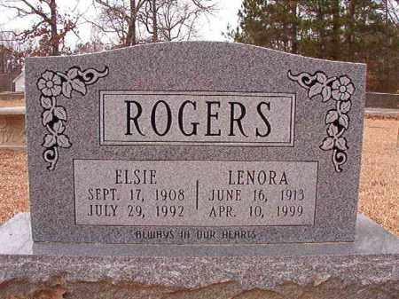 ROGERS, ELSIE - Columbia County, Arkansas | ELSIE ROGERS - Arkansas Gravestone Photos