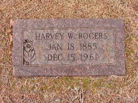 ROGERS, HARVEY W - Columbia County, Arkansas | HARVEY W ROGERS - Arkansas Gravestone Photos