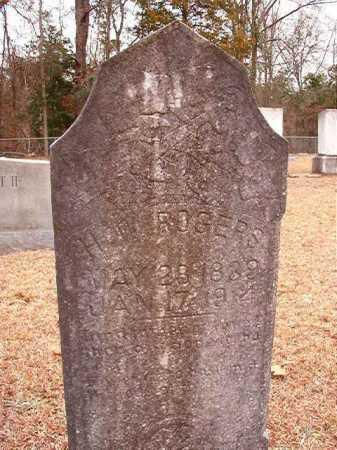 ROGERS, H W - Columbia County, Arkansas | H W ROGERS - Arkansas Gravestone Photos