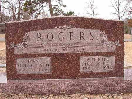 ROGERS, WILLIE LEE - Columbia County, Arkansas | WILLIE LEE ROGERS - Arkansas Gravestone Photos