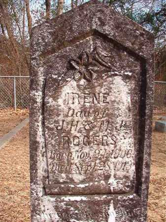 ROGERS, IRENE - Columbia County, Arkansas | IRENE ROGERS - Arkansas Gravestone Photos