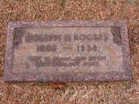 ROGERS, JOSEPH M - Columbia County, Arkansas | JOSEPH M ROGERS - Arkansas Gravestone Photos