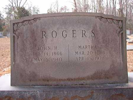 ROGERS, MARTHA J - Columbia County, Arkansas | MARTHA J ROGERS - Arkansas Gravestone Photos