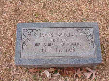 ROGERS, JAMES WILLIAM - Columbia County, Arkansas | JAMES WILLIAM ROGERS - Arkansas Gravestone Photos