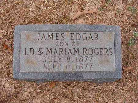ROGERS, JAMES EDGAR - Columbia County, Arkansas | JAMES EDGAR ROGERS - Arkansas Gravestone Photos