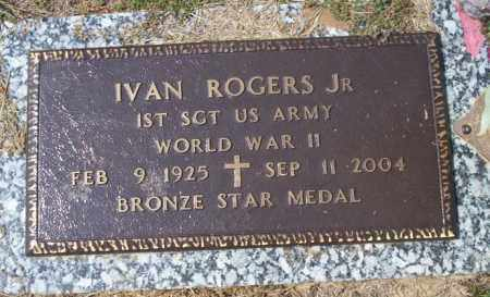 ROGERS, JR  (VETERAN WWII), IVAN - Columbia County, Arkansas | IVAN ROGERS, JR  (VETERAN WWII) - Arkansas Gravestone Photos