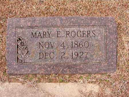 ROGERS, MARY E - Columbia County, Arkansas | MARY E ROGERS - Arkansas Gravestone Photos