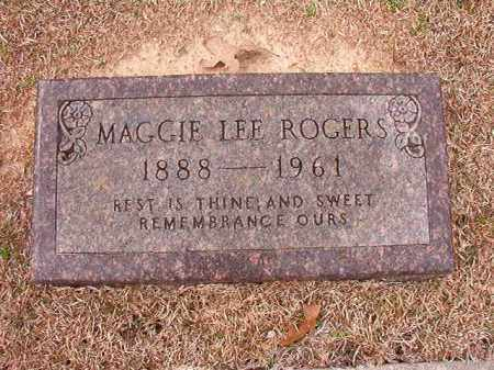 ROGERS, MAGGIE LEE - Columbia County, Arkansas | MAGGIE LEE ROGERS - Arkansas Gravestone Photos
